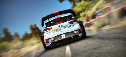 Sébastien Ogier fait hurler le moteur de WRC 7