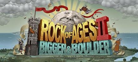 Rock of Ages 2: Bigger & Boulder sort sur PC