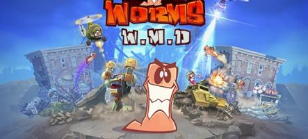 Worms W.M.D annoncé sur Nintendo Switch