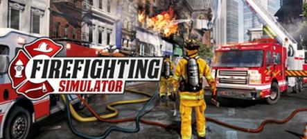 Firefighting Simulator : Un jeu qui va vous mettre le feu