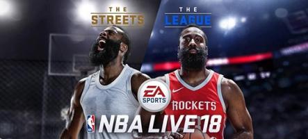 NBA Live 18 est l'élu