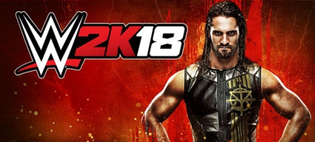 WWE 2K18 met le feu au ring