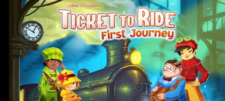 Ticket to Ride: First Journey, un jeu de trains accessible à toute la famille