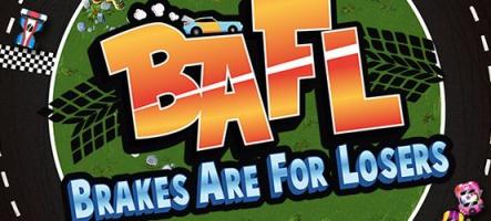 BAFL : Un jeu de courses arcade rétro