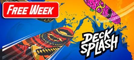 Decksplash : un jeu de skateboard gratuit