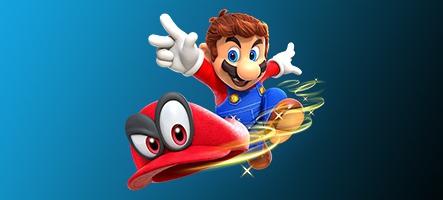Super Mario Odyssey cartonne en France