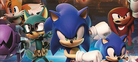 (TEST) Sonic Forces (Nintendo Switch, PC, PS4, Xbox One)