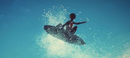Surf World Series sort en boîte sur PS4