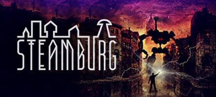 Steamburg, un très intéressant jeu d'aventure et de puzzles, est disponible