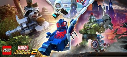 LEGO Marvel Super Heroes 2 est disponible