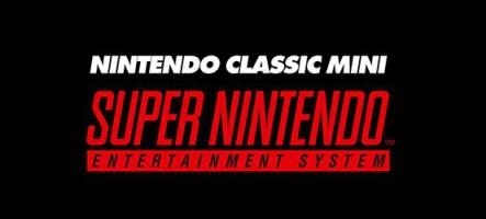 SNES Mini Classic : de retour dans les rayons