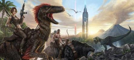 Le nouveau DLC d'Ark Survival Evolved est une Aberration