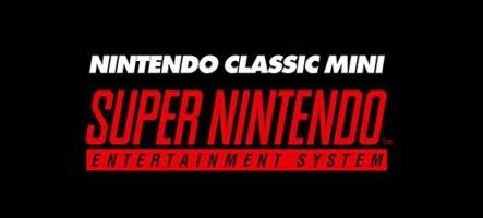 De nouvelles SNES Classic Mini en stock