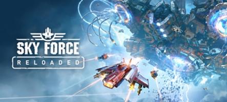 Sky Force Reloaded : Un shoot qui envoie du lourd sur Nintendo Switch, PC et PS4