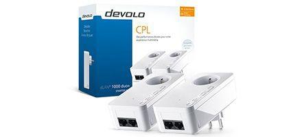 Concours : Gagnez un Starter kit CPL Devolo dLAN 1000 duo+