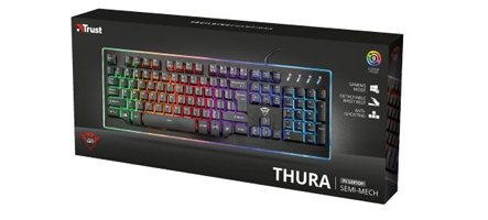 Trust GXT 860 Thura, un clavier ...