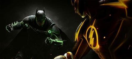 Injustice 2 manipule la puissance de l'Atom