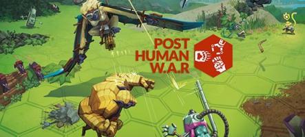 Post Human W.A.R, un jeu absurde
