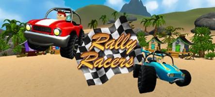 Rally Racers, un petit jeu de courses sur PC