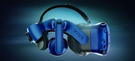 CES 2018 : HTC annonce le Vive Pro et un adaptateur VR sans fil