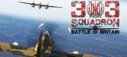 303 Squadron: Battle of Britain, un nouveau shoot aérien !