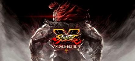 Street Fighter V Arcade Edition disponible sur PC et PS4