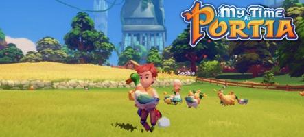 My Time at Portia jouable sur PC avant les versions PS4, Xbox One et Nintendo Switch