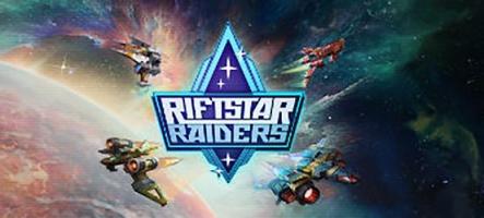 RiftStar Raiders en démo gratuite sur PC, PS4 et Xbox One !