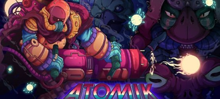 ATOMIK: RunGunJumpGun est disponible sur Nintendo Switch
