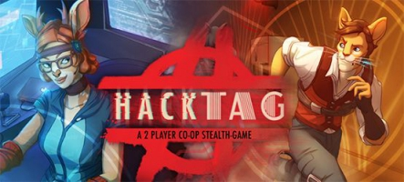 Hacktag : Le jeu d'infiltration en coop à deux vient de sortir