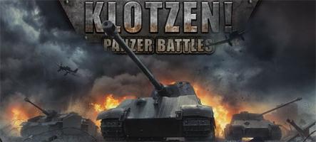 Klotzen! Panzer Battles : Un wargame pour réécrire l'Histoire