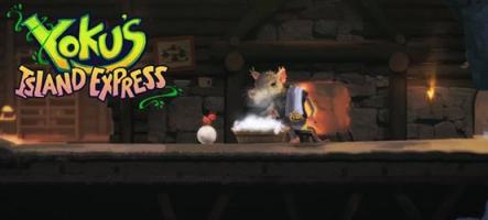 Yoku's Island Express : Un jeu de plateformes ? Un jeu de flipper ?