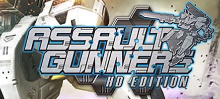 Assault Gunners HD Edition : un jeu de mech sur PC et PS4