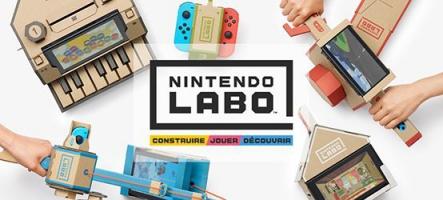 Nintendo Labo : ne jetez plus vos cartons !