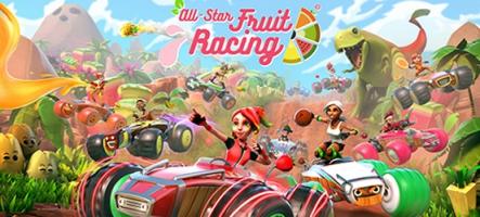 All-Star Fruit Racing, un jeu de kart sur PS4, Xbox One et Nintendo Switch