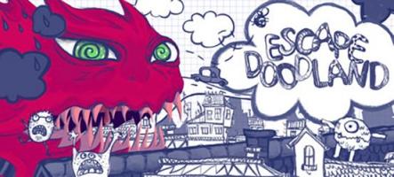 Escape Doodland : Un petit jeu de plateformes atypique
