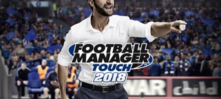 Football Manager débarque sur Nintendo Switch