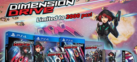 Dimension Drive : un shoot sur PS4 et Nintendo Switch