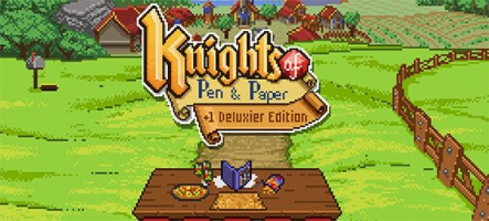 Knights of Pen and Paper débarque sur Nintendo Switch, PS4 et Xbox One