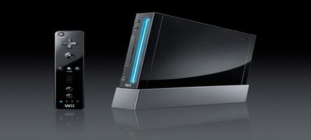 La Wii se drape de noir