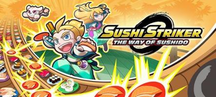 Sushi Striker: The Way of Sushido le 8 juin sur Switch et 3DS