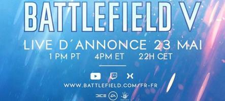 Battlefield V dévoilé le 23 mai à 22h
