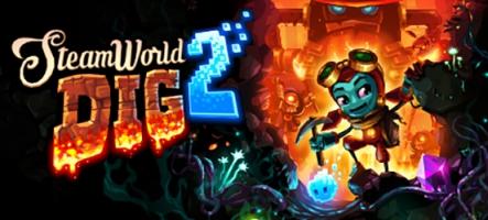 SteamWorld Dig 2 débarque sur PS4
