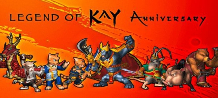 Legend of Kay Anniversary sort sur Nintendo Switch