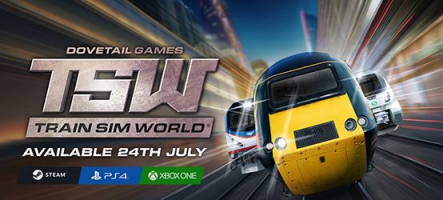 Train Sim World sort fin juillet sur PC, PS4 et Xbox One