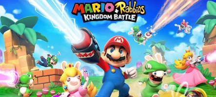 Donkey Kong dispo dans Mario + The Lapins Crétins Kingdom Battle