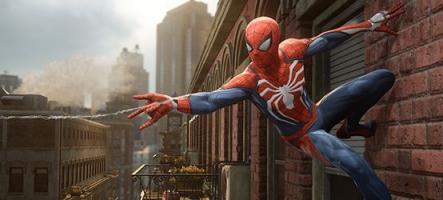 Spider-Man fait saliver vos yeux pendant 18 minutes