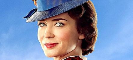 Mary Poppins est de retour, et c'est chouette !