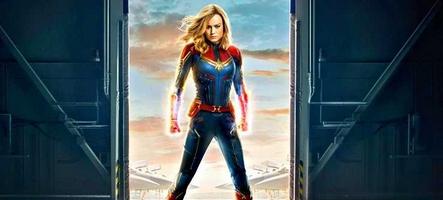 Captain Marvel fait dans le classique pour sa première bande-annonce