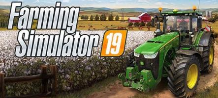 Farming Simulator 19 arrive !
